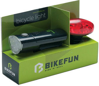 Far BIKEFUN LINK set F+S 5+4 LED