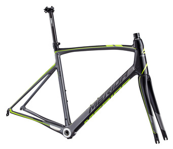 CADRU MERIDA 2015 RIDE 4000 MAT ANTRACIT/VERDE