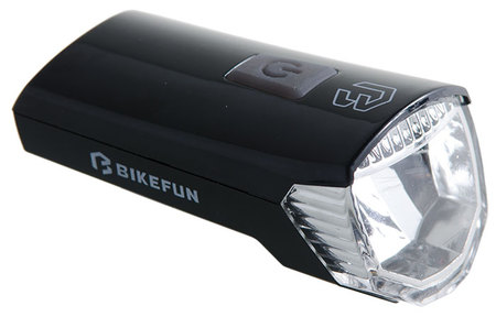 Far BIKEFUN RAY față 1 LED USB