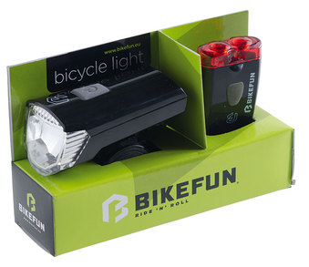 Lămpi BIKEFUN RAY set 1+2 LED USB