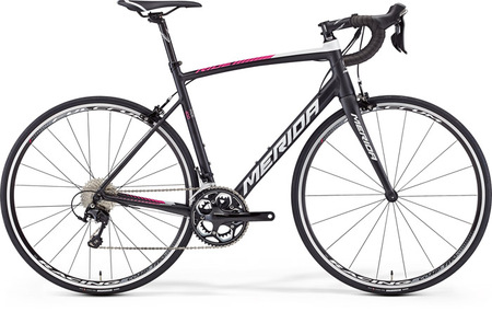 MERIDA 2016 RIDE 400 LAMPRE REPLICA (SILK NEGRU/FUCHSIA)