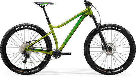 MERIDA 2018 BIG.TRAIL 500 MAT OLIVA (VERDE NEON)