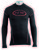 Haine de corp NORTHWAVE EVOLUTION BASE LAYER iarnă, lung, negru/roșu