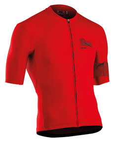 Tricou ciclism NORTHWAVE EXTREME 3 scurt roșu