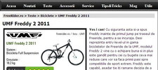 Test UMF Freddy 2 2011 pe www.freerider.ro
