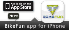 BikeFun App for iPhone